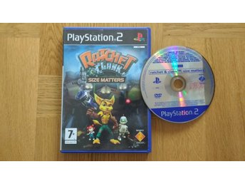 PlayStation 2/PS2: Ratchet & Clank: Size Matters