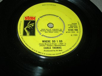 CARLA THOMAS- Where Do I Go UK -68 STAX