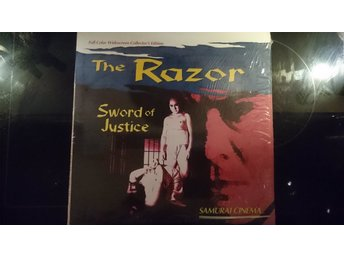 THE RAZOR - SWORD OF JUSTICE Samurai Cinema Laserdisc LD WIDESCREEN VERY RARE