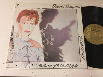 DAVID BOWIE scary monsters LP -80 Can RCA AQL1-3647