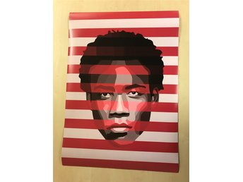 Grafisk poster A2 Childish Gambino (Donald Glover, This is America)