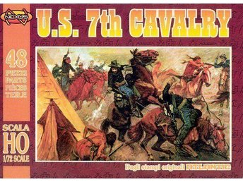 "Nexus 003 ""US 7th Cavalry""  figurer skala 1:72"