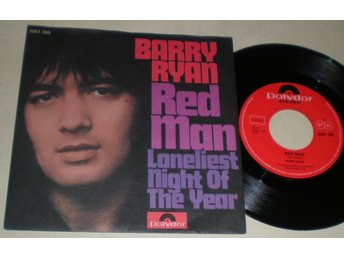 Barry Ryan 45/PS Red man 1971 M-