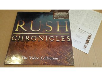 RUSH - CHRONCLES VIDEO COLLECTION JAPAN LD