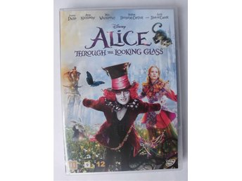 Ny DVD i Spegellandet / Alice Through the looking glass Disney-film