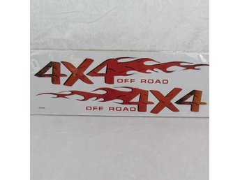 Bildekal 4x4 off road