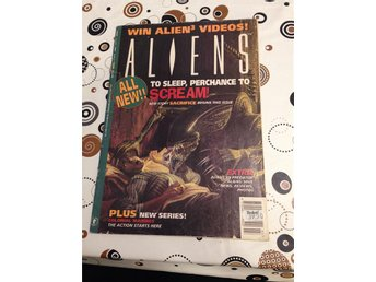 Aliens Comic Magazine Volume 2 Issue 9 Year 1993 To Sleep Perchance To Scream