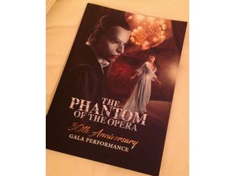 The phantom of the opera 30th anniversary program LONDON - Rare