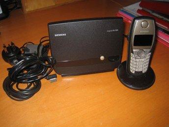 Siemens Gigaset SL 100. Basstation, 1 laddningsstation, 1 telefon. Elkablar och - örebro - Siemens Gigaset SL 100. Basstation, 1 laddningsstation, 1 telefon. Elkablar och - örebro
