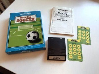 Intellivision - World Cup Soccer (komplett)
