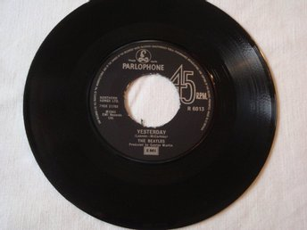 "BEATLES THE - YESTERDAY 7"" 1965 UK"