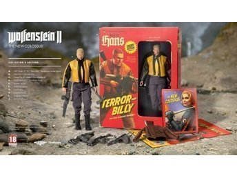 Wolfenstein 2 The New Colossus Collectors' Edition PC ny öppnad
