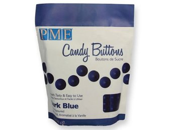 PME Candy Buttons Dark Blue, Mörkblå, Candy Melts, CB003