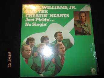 HANK WILIAMS JR.-just pickin no singin US.MGM  4096