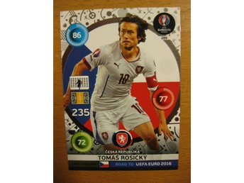 FANS FAVOURITE - TOMAS ROSICKY - ROAD TO UEFA EURO 2016 FRANCE