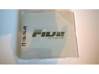 Five - Let's Dance (radio edit), CD