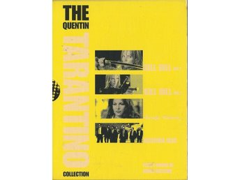 QUENTIN TARANTINOCOLLECTION - 6 DVD DELUXE B (SVENSKT TEXT)