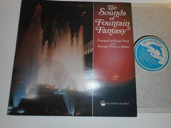 SOUND OF FOUNTAIN FANTASY - Sea World USA Florida USA 70-tal
