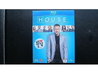 Blu-Ray House Säsong 6 (NY INPLASTAD!) - Täby - Blu-Ray House Säsong 6 (NY INPLASTAD!) - Täby