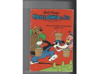 Kalle Anka 8 st 26,30,32,35,36,37,38,47 1973 skick vg - Skoghall - Kalle Anka 8 st 26,30,32,35,36,37,38,47 1973 skick vg - Skoghall