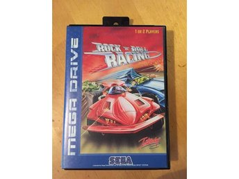 Rock 'n' Roll Racing Sega Mega Drive