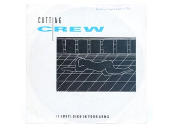 Cutting Crew - (I Just) Died In Your Arms 108 551-100 Singel 1986