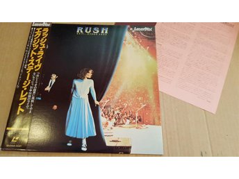 RUSH - EXIT STAGE LEFT JAPAN LD