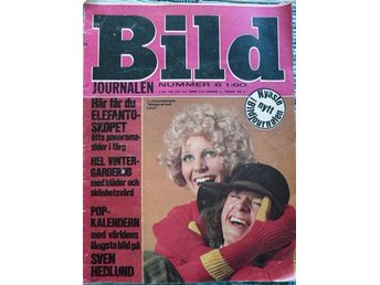 Bildjournalen 6/68-Don Curtis,Harlem Kiddies,Tumble Downs, Les Fleurs och Things