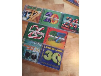25 CD-skivor - most wanted, absolute, 80's, bodywork mm