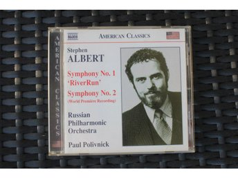 ALBERT, STEPHEN Symphonies nos 1 and 2