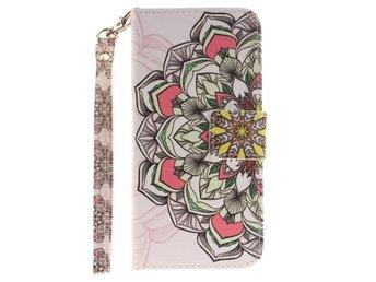 Plånboksfodral till Apple iPhone 6 / 6S - Colored Henna Pattern - Norsborg - Plånboksfodral till Apple iPhone 6 / 6S - Colored Henna Pattern - Norsborg