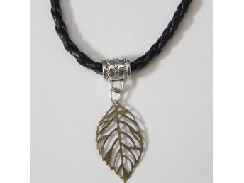 Blad halsband / Leaf necklace