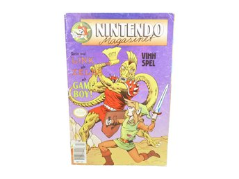 Nintendo Magasinet Nr 2 1991 med Power Play bilaga
