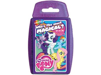TOP TRUMPS MY LITTLE PONY Trumf kort RARITY PINKIE PIE