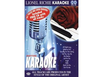 Partytime Karaoke - Lionel Richie (CD+DVD)