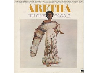 Aretha Franklin - Ten Years Of Gold (LP, Comp, PR)