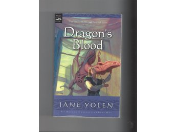 Jane Yolen Dragons Blood skick fint