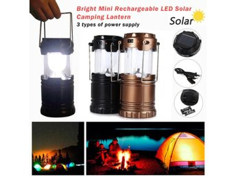 Rechargeable Camping Light Collapsibl...
