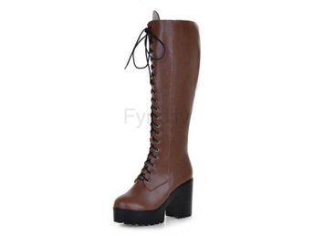 Dam Boots winter warm shoes boot P15636 EUR Brown 42