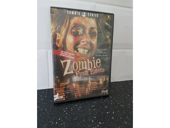 Dvd: Zombie flesh eaters  - zombie series  - svensk text.