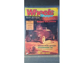 Wheels nr 4 1988: Chevrolet Fleetline Areosedan 1948, Dodge Charger 500 1971