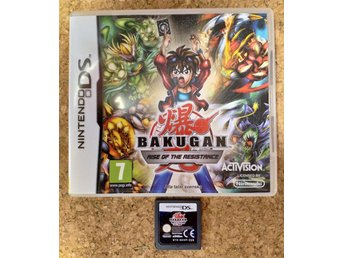 Bakugan Rise of The Resistance SVENSK Nintendo DS