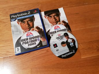 TIGER WOODS PGA TOUR 2005 PS2 BEG