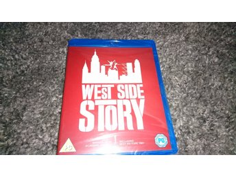 Blu-ray West Side story Natalie Wood Inplastad