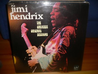 Dubbel LP Jimi Hendrix - The greatest original sessions