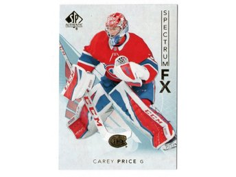 17-18 SP Authentic Spectrum FX Veterans Bounty Carey Price