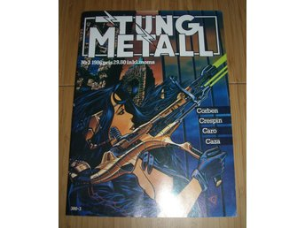 TUNG METALL NR 3 1986 Fint skick