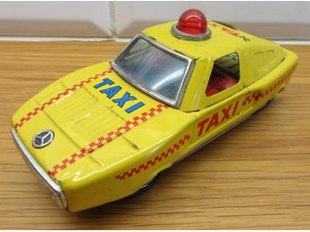 Taxi Mercedes Hero Toy Made in Japan
