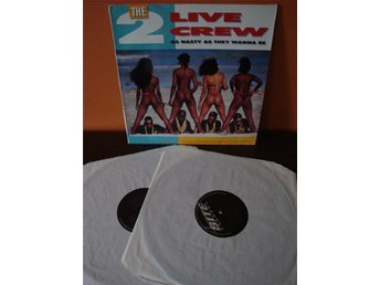 The 2 Live Crew: As Nasty As They Wanna Be.2 LP.Hip Hop/Rap