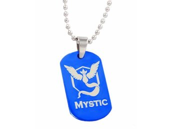 Team Mystic Dog Tag Pokemon Go anime